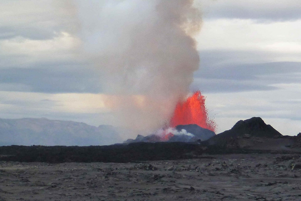 icelandic volcano report Reports have circulated that there is an imminent eruption of a volcano  at the icelandic  published a report last week in the journal.