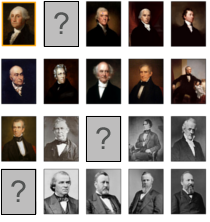 photo relating to Printable List of Presidents in Order known as Area the US presidents within just buy Lizard Place
